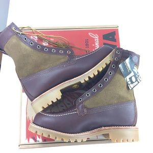 Chippewa 7.5E Wide Shearling Lined Boots